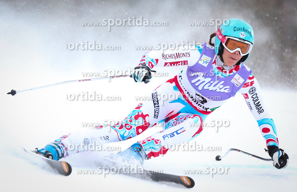 05.02.2013, Planai, Schladming, AUT, FIS Weltmeisterschaften Ski Alpin, Super G, Damen, im Bild Marie Marchand-Arvier (FRA) // Marie Marchand-Arvier of France in action during ladies SuperG at the FIS Ski World Championships 2013 at the Planai Course, Schladming, Austria on 2013/02/05. EXPA Pictures © 2013, PhotoCredit: EXPA/ Johann Groder