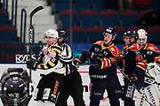 STOCKHOM 2017-10-27: Henrik Hetta i Skellefte&aring; AIK i br&aring;k under matchen i SHL mellan Djurg&aring;rdens IF och Skellefte&aring; AIK p&aring; Hovet, Stockholm, den 27 oktober 2017.<br /> Foto: Nils Petter Nilsson/Ombrello<br /> ***BETALBILD***