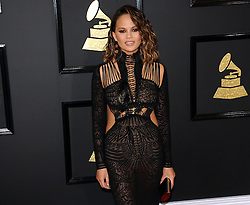 Chrissy Teigen at the 59th GRAMMY Awards held at the Staples Center in Los Angeles, USA on February 12, 2017.
