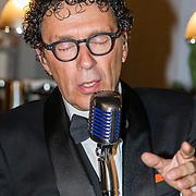 NLD/Laren/20160925 - Frank Masmeijer in Laren voor opname nieuw tv programma, Peter Douglas