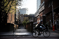 UK ENGLAND LONDON 20APR15 - Urban living and cycling near Aldgate, city of London.<br /> <br /> <br /> <br /> jre/Photo by Jiri Rezac<br /> <br /> © Jiri Rezac 2015