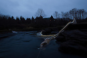 Nets are set out overnight to catch elvers, a type of juvenile eel, in Pemaquid, Maine on Wednesday, March 28, 2012.  Craig Dilger for The New York Times