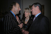 Ed Victor and Joanna Trollope. Everyman's Centenary Party. The Fine Rooms. Royal Academy. London. 15 February 2006. dddONE TIME USE ONLY - DO NOT ARCHIVE  © Copyright Photograph by Dafydd Jones 66 Stockwell Park Rd. London SW9 0DA Tel 020 7733 0108 www.dafjones.com