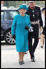 OCT 30 2014 The Queen and Duke of Edinburgh in Wolverhampton