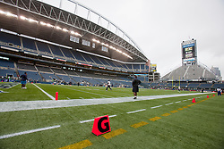 September 26, 2010; Seattle, WA, USA;  General view of Qwest Field before the game between the Seattle Seahawks and the San Diego Chargers.