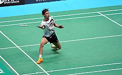 Alex Lane of Bristol Jets in action  - Photo mandatory by-line: Robbie Stephenson/JMP - 07/11/2016 - BADMINTON - University of Derby - Derby, England - Team Derby v Bristol Jets - AJ Bell National Badminton League