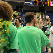 Skylar Diggins, Notre Dame, dances with the band after the Connecticut V Notre Dame Final match won by Notre Dame during the Big East Conference, 2013 Women's Basketball Championships at the XL Center, Hartford, Connecticut, USA. 11th March. Photo Tim Clayton