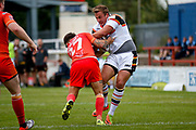 Bradford Bulls centre Lee Smith (1) in action  during the Kingstone Press Championship match between Sheffield Eagles and Bradford Bulls at, The Beaumont Legal Stadium, Wakefield, United Kingdom on 3 September 2017. Photo by Simon Davies.