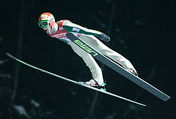 01.02.2011, Vogtland Arena, Klingenthal, GER, FIS Ski Jumping Worldcup, Team Tour, Klingenthal, im Bild Johan Remen Evensen, NOR, während der Qualifikation // during the FIS Ski Jumping Worldcup, Team Tour in Klingenthal, Germany 1/2/2011. EXPA Pictures © 2011, PhotoCredit: EXPA/ Jensen Images/ Ingo Jensen +++++ ATTENTION +++++ GERMANY OUT!