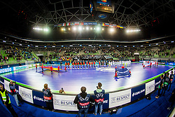 Arena Stozice during futsal match between Spain and France at Day 2 of UEFA Futsal EURO 2018, on January 31, 2018 in Arena Stozice, Ljubljana, Slovenia. Photo by Ziga Zupan / Sportida