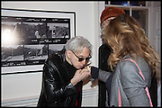 CHRIS STEIN; SIR BOB GELDOF; JEANNE MARINE Chris Stein / Negative: Me, Blondie, and The Advent of Chris Stein / Negative: Me, Blondie, and The Advent of Punk - private view, Somerset House, the Strand. London. 5 November 2014.