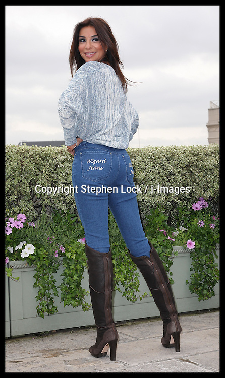 Shobna Gulati  who was named winner of the Wizard Jeans Rear of the Year awards in London, Wednesday, 27th June 2012 Photo by: Stephen Lock / i-Images
