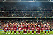 QUEENSLAND MAROONS - STATE ORIGIN GAME 2 - 26TH JUNE 2013. Action from the 2013 NRL State of Origin Rugby League Game 2 between the Queensland Maroons v NSW Blues played at Suncorp Stadium, Brisbane Australia. This image is for Editorial Use Only. Any further use or individual sale of the image must be cleared by application to the Manager Queensland Rugby League Commercial Department. PHOTO : SMP IMAGES