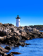 Portsmouth Harbor Lighthouse, New Castle, New Hampshire, USA