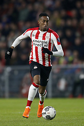 Joshua Brenet of PSV during the Dutch Eredivisie match between PSV Eindhoven and sc Heerenveen at the Phillips stadium on February 17, 2018 in Eindhoven, The Netherlands