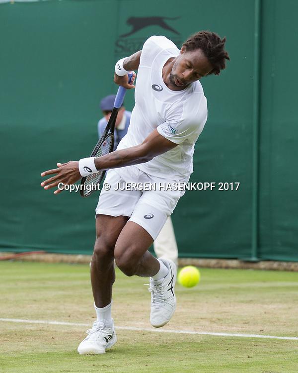GAEL MONFILS (FRA)<br /> <br /> Tennis - Wimbledon 2016 - Grand Slam ITF / ATP / WTA -  AELTC - London -  - Great Britain  - 4 July 2017.