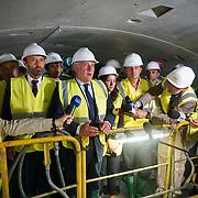 Tajani visita i cantieri della Torino-Lione