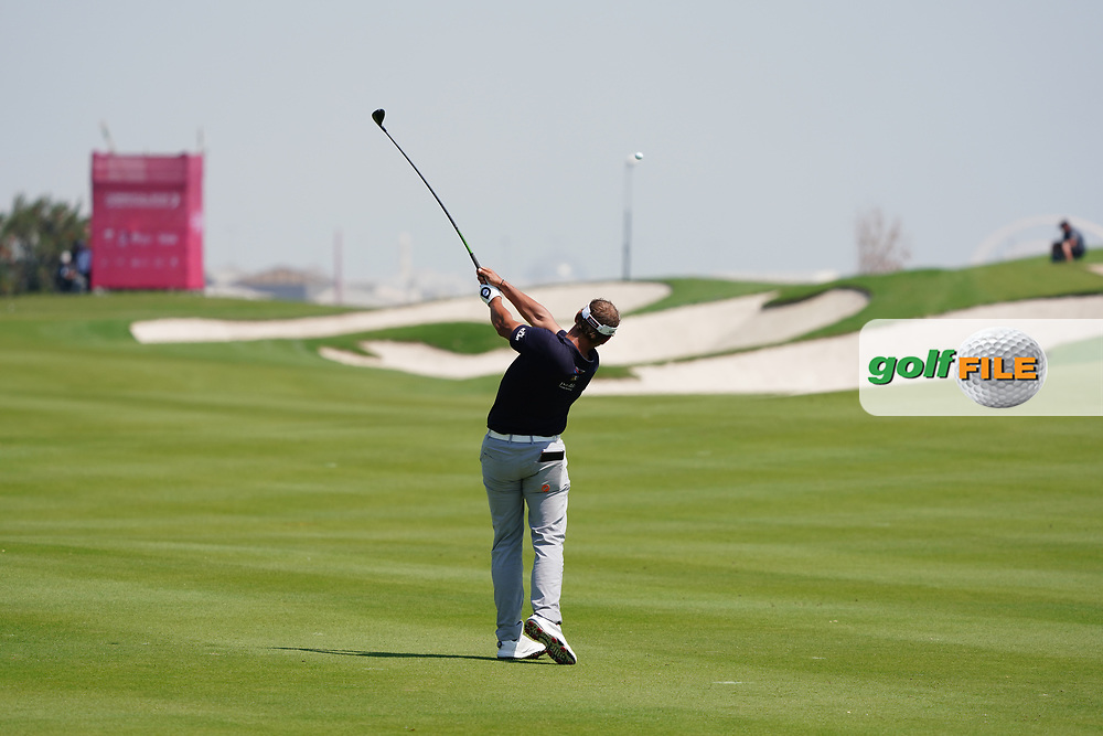 Joost Luiten (NED) on the 2nd during Round 2 of the Commercial Bank Qatar Masters 2020 at the Education City Golf Club, Doha, Qatar . 06/03/2020<br /> Picture: Golffile | Thos Caffrey<br /> <br /> <br /> All photo usage must carry mandatory copyright credit (© Golffile | Thos Caffrey)