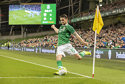 November 15, 2018 - Dublin, Ireland - Robbie Brady of Ireland in action during the International Friendly match between Republic of Ireland and Northern Ireland at Aviva Stadium in Dublin, Ireland on November 15, 2018  (Credit Image: © Andrew Surma/NurPhoto via ZUMA Press)