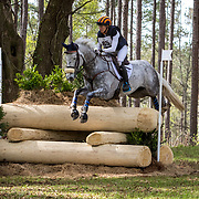 Elisabeth Halliday-Sharp (USA) and Cooley Quicksilver at the Red Hills International Horse Trials in Tallahassee, Florida.