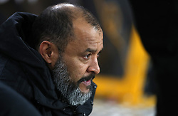 Wolverhampton Wanderers manager Nuno Espirito Santo during the FA Cup quarter final match at Molineux, Wolverhampton.