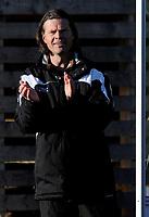 Fotball<br /> 02.05.10<br /> Varden Amfi<br /> Adeccoligaen<br /> Løv-Ham v Mjøndalen 0 - 2<br /> Mjøndalen trener Vegard Hansen<br /> Foto : Astrid M. Nordhaug