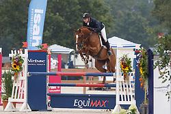De Boer Lennard, (NED), Falanita<br /> Isah Cup 5 Jarige springpaarden <br /> KWPN Kampioenschappen Ermelo 2015<br /> © Hippo Foto - Dirk Caremans