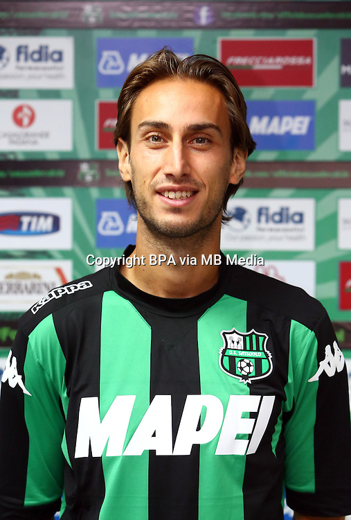 Italian League Serie A -2015-2016 / <br /> ( US Sassuolo Calcio ) - <br /> Simone Missiroli