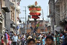 Nepal: Narayan Jatra Festival Celebrated in Hadigaun, 17 Oct. 2016