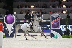 Ehning, Marcus, Cornado NRW<br /> Lyon - Weltcup Finale<br /> Finale II<br /> © www.sportfotos-lafrentz.de/Stefan Lafrentz