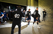 All Blacks Rieko Ioane arrives for the match during the Rugby Championship match between the New Zealand All Blacks & South Africa at Westpac Stadium, Wellington on Saturday 27th July 2019. Copyright Photo: Grant Down / www.Photosport.nz