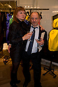 KATE DIGNAM; UMBERTO DOZENZO,  The Launch of the Lanvin store on Mount St. Presentation and cocktails.  London. 26 March 2009