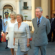 Santiago de Chile<br /> Official visit of Prince Charles and his wife.<br /> Michel Ballelet receives Prince Charles in the palace of La Moneda.<br /> <br /> Visita Oficial Principe Carlos y su esposa.<br /> Michel Ballelet recibe al pricipe carlos en el palacio de la Moneda