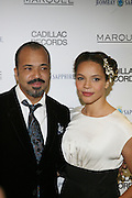 "l to r Jeffrey Wright and his wife, Carmen Wright at the ' Cadillac Records' premiere at held at AMC Broadway 19th Street on Decemeber 1, 2008 in NYC..In this tale of sex,, violence, race, and rock and roll in the 1950's Chicago, 'Cadillac Records"" follows the exciting but turbulent lives of some America's musical legends including Muddy Waters, Leonard Chess, Little Walter, Howlin' Wolf, Chuck Berry and Etta James."