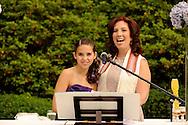 CV Rich Bat Mitzvah service in the garden and party.Shira Adler cantor