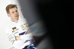 March 2, 2018 - Las Vegas, Nevada, United States of America - March 02, 2018 - Las Vegas, Nevada, USA: Jamie McMurray (1) hangs out in the garage during practice for the Pennzoil 400 at Las Vegas Motor Speedway in Las Vegas, Nevada. (Credit Image: © Justin R. Noe Asp Inc/ASP via ZUMA Wire)