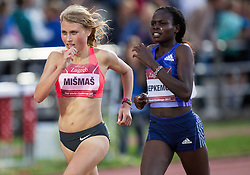 Marusa Mismas of Slovenia and Nancy Chepkemoi of Kenya compete in 3000m Women during IAAF World Challenge Zagreb - The 65th Hanzekovic Memorial Meeting, on September 8, 2015, in Stadium Mladost, Zagreb, Croatia. Photo by Vid Ponikvar / Sportida