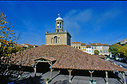 Languadoc and Roussillon.  Revel.  Covered Market/belfry.