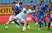 Fotball , 26. juli 2020 , Eliteserien , Sandefjord vs Mjøndalen<br /> <br /> Sondre Liseth