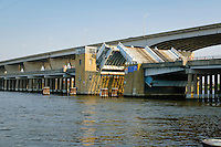 Kent Narrows Drawbridge, Kent Narrows, Maryland USA