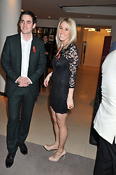 FAWN JAMES and NICK LAWSON at the Lighthouse Gala Auction in aid of The Terrence Higgins Trust held at Christie's, 8 King Street, St.James' London on 19th March 2012.
