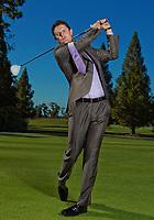 PGA golfer poses for a portrait at Lake Nona CC.<br /> (Photo/Tom DiPace)