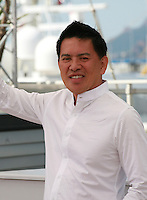 Director Brillante Mendoza at the Taklub film photo call at the 68th Cannes Film Festival Wednesday May 20th 2015, Cannes, France.