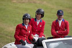 Team USA, Kraut Laura, Madden Beezie, McLain Ward, USA<br /> CHIO Aachen 2017<br /> © Hippo Foto - Dirk Caremans<br /> 20/07/2017