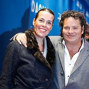 NLD/Amsterdam/20130408 - Filmpremiere Daglicht, Dirk Zeelenberg en partner Suus