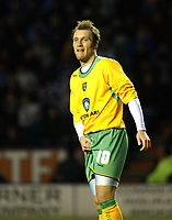 Photo: Chris Ratcliffe.<br />Leicester City v Norwich City. Coca Cola Championship. 31/12/2005.<br />Is Dean Ashton going to the Premiership with Wigan?