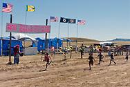 Fort Belknap Indian Reservation, Montana, Kids Foot Race, Jacob Campbell winner
