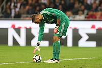 Milano - 01.10.2017 -   Milan-Roma - Serie A 7a giornata   - nella foto:  Gianluigi Donnarumma deluso