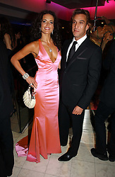 SOPHIE ANDERTON and TIMMY GRECH at Andy & Patti Wong's annual Chinese New year Party, this year to celebrate the Year of The Pig, held at Madame Tussauds, Marylebone Road, London on 27th January 2007.<br />