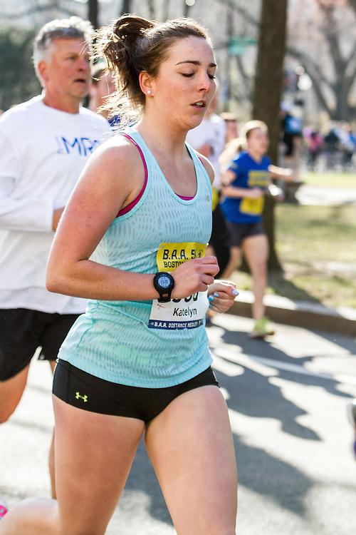 Boston Marathon: BAA 5K road race, Oiselle, Katelyn